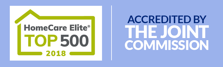 Homecare Elite Top 500 (2018) | Accredited by The Joint Commission