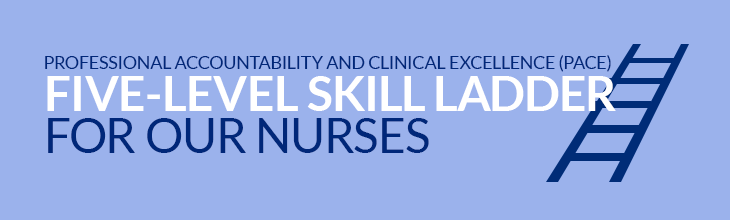Professional Accountability and Clinical Excellence (PACE) Five-Level Skill Ladder for Our Nurses