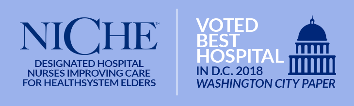 NICHE - Designated Hospital Nurses Improving Care for Healthsystem Elders | Voted Best Hospital in D.C. 2015 - Washington City Paper