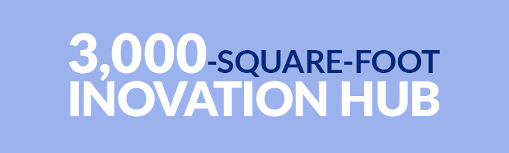 3,000-Square-Foot Innovation Hub