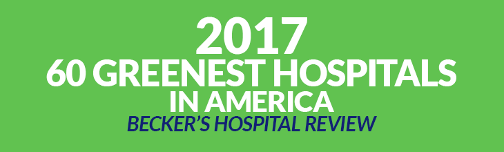 2015 50 Greenest Hospitals in America - Becker's Hospital Review